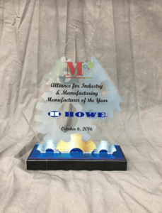 Howe Salutes the Manufacturing Day Initiative  Plays Vital